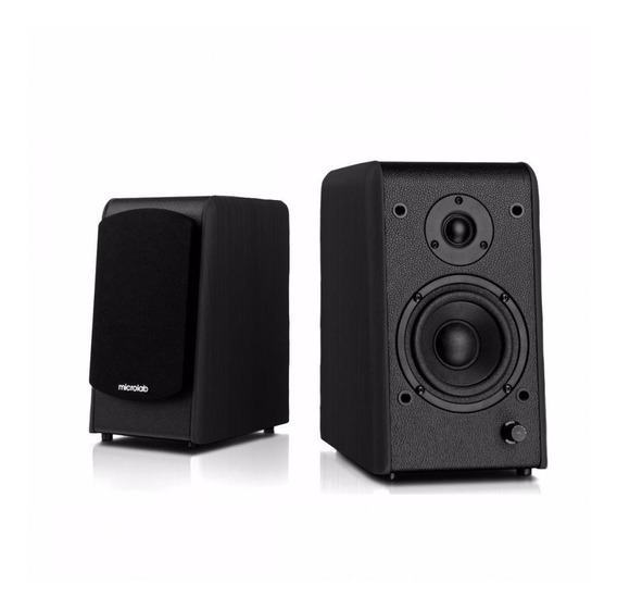 Monitor De Audio Microlab B77bt Com Bluetooth 64w Rms 2.0