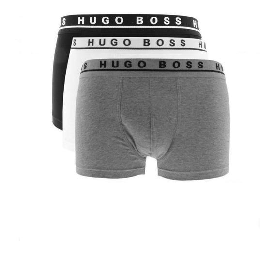 Paquete De 3 Boxers Brief Trunk Hugo Boss - En Excelente Oferta