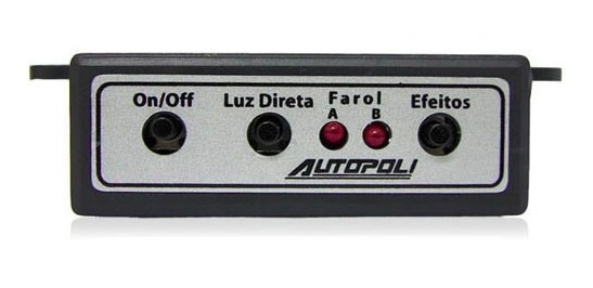 Modulo De Controle P/ Faro Auxiliar De Led 12 Volts Autopoli