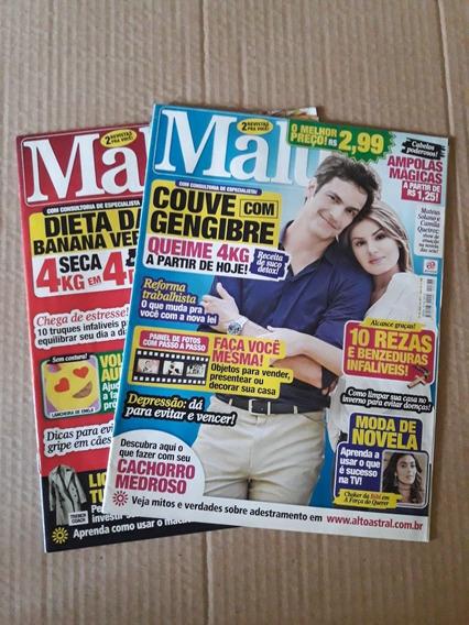 Revista Malu - Pack Com Duas Edições (786 E 787)