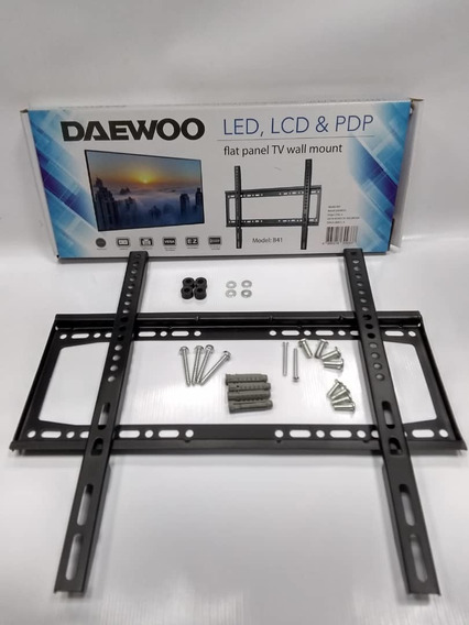 Base De Pared Fija Para Televisor Led Lcd 3d 26 A 55 Daewo