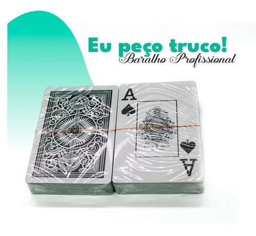Baralho Jogo Cartas Naipe 123útil - Kit Com 2 Unidades