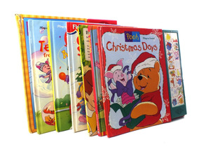 Lote Com 7 Livros Infantis Em Inglês Disney B5140