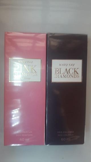 Perfume Feminino Black Diamonds + Pink Diamonds Mary Kay