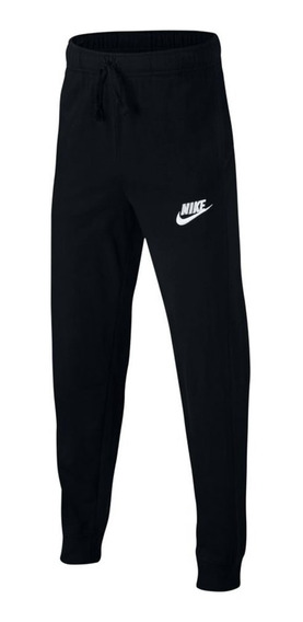 Pantalon Nike Jersey Negro Niño
