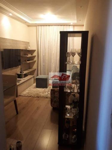 Imagem 1 de 23 de Apartamento Com 2 Dormitórios À Venda, 55 M² Por R$ 320.000,00 - Vila Liviero - São Paulo/sp - Ap8010