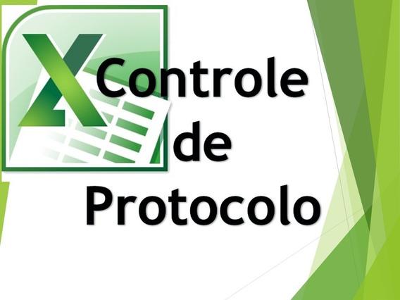 Controle De Protocolo - Excel Planilhas Avançadas