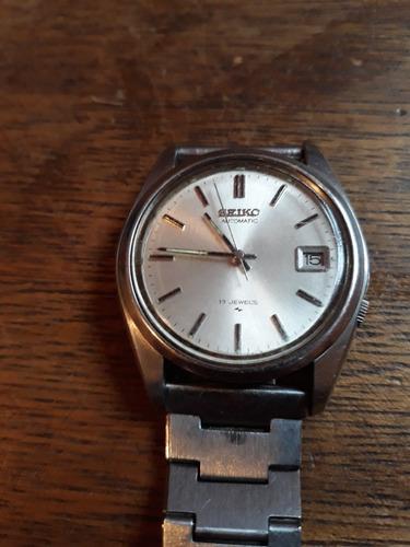 Relógio Seiko Automatic 17jewels 7025-8100 Anos 70/80(0015k)