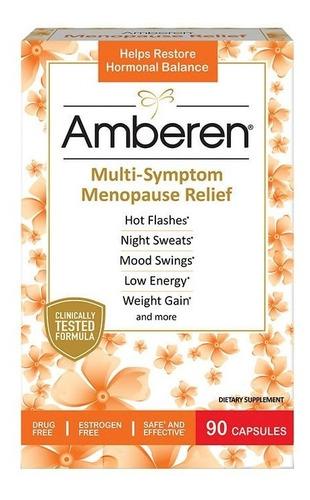 Amberen Menopausia 90 Capsulas - Unidad a $21