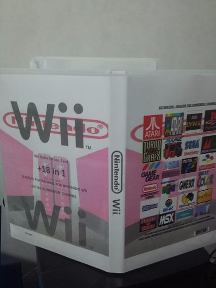 Wii Super Card Games +18 In 1 Retro Edition Emuladores
