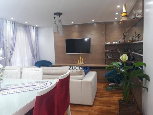 Apartamento Com 3 Dormitórios À Venda, 75 M² Por R$ 415.000 - Jardim Nova Taboão - Guarulhos/sp - Ap14605