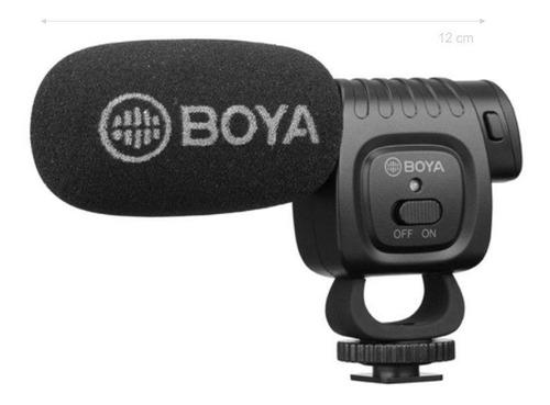 Imagem 1 de 3 de Microfone Condensador Direcional Boya By-bm3011 Shotgun