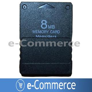 Memory Card 8mb Generica Playstation 2 Sellada Ps2 Play2