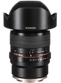 Lente Rokinon 14mm F/2.8 Ed As If Umc ( Para Sony E )