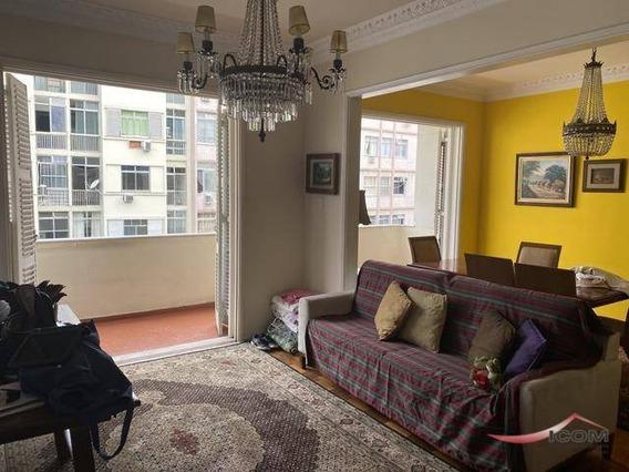 Apartamento Com 3 Dormitórios Para Alugar, 189 M² Por R$ 5.500,00/mês - Flamengo - Rio De Janeiro/rj - Ap4272