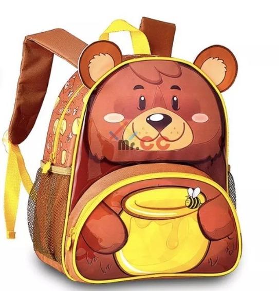 Mochila Clio Pets 9023 Urso - Original