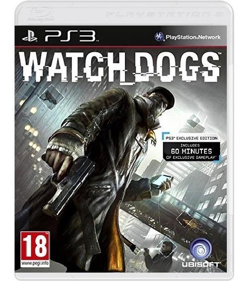 Watch Dogs - Mídia Física / Ps3