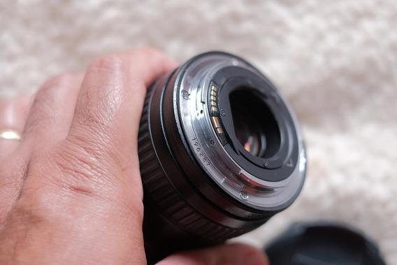 Lente Canon 17-40 F4 Em Excelente Estado, Tampas E Parasol