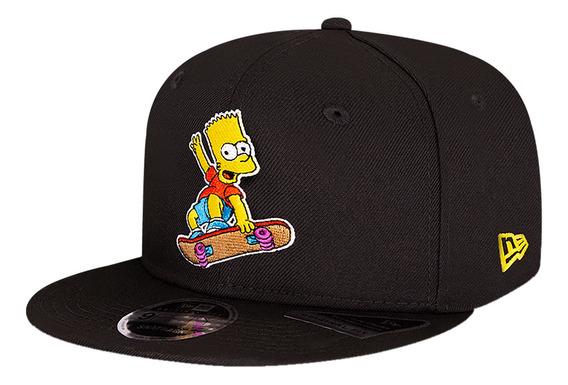 Gorra New Era Casual 9fifty Los Simpson Bart Negro