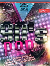 90s Pop 25 Super Sucessos Dvd Original Novo Lacrado
