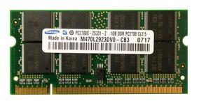 Memória Samsung Ddr 1gb 333 Pc2700 Notebook Ecs 557s