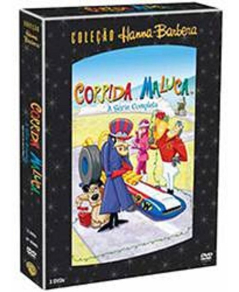 Coleção Dvd Hanna-barbera: Corrida Maluca - Série Completa