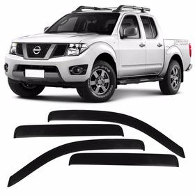 Calha De Chuva Defletor Nissan Frontier Sle 2008 A 2015
