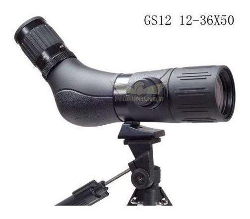 Luneta De Observação Terrestre Ar+ Mod. Gs12 12-36x50 +
