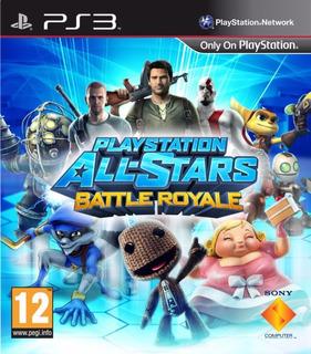 Playstation All Stars Battle Royale Ps3 (ya No Tiene Online)