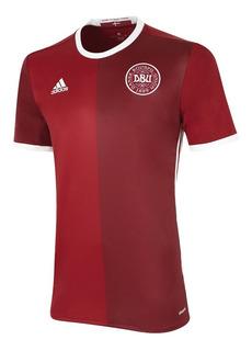 Camiseta Selección Dinamarca (fdc) Cuotas Sin Interes