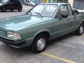 Ford Pampa 1.6 L Alcool 1989 Raridade + Manual 16990 Avista