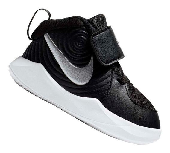 Tênis Nike Infantil Team Hustle Td Preto Aq4226001 Original