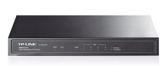 Router TP-Link SafeStream TL-R600VPN negro 100V/240V 1 unidad