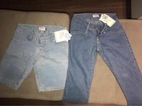 Jeans - Kit Calça E Bermuda - N. 4