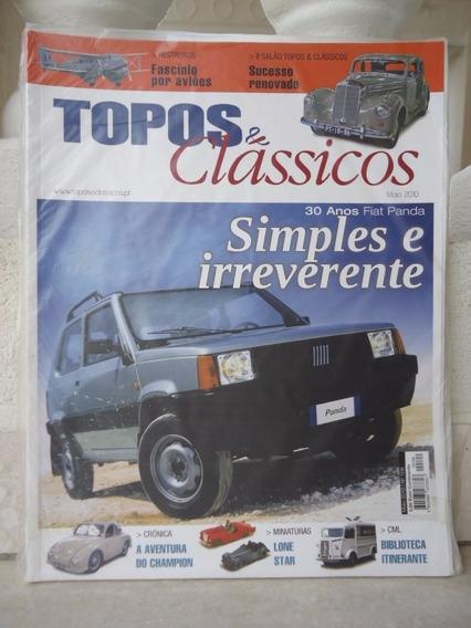 Topos & Classicos N°109 Fiat Panda Champion Miniatura Aviões