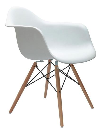 Cadeira Com Braço Eames Branca
