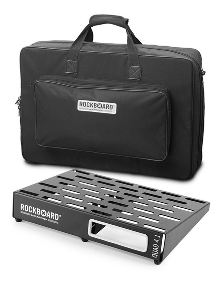 Pedalboard Rockboard Quad 4.1 46x32,6cm Com Gig Bag