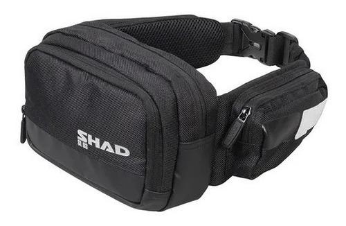 Imagen 1 de 4 de Bolsa De Cintura Shad Sl03 Textil Negra Para Moto
