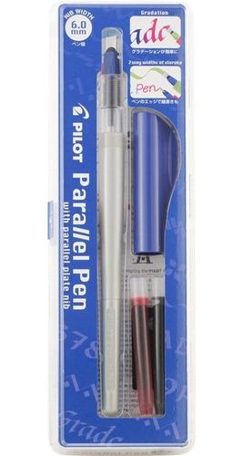 Pluma Caligrafica Pilot Lettering Parallel Pen 6 Mm