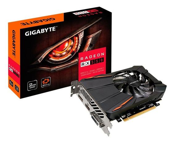 Placa Video Amd Radeon Gigabyte Rx 550 2gb 3