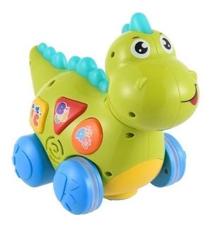 Dinosaurio Musical Y Ruedas Bw-jp05