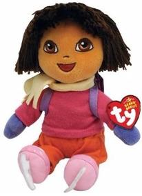Dora E Macaco Pelucia Ty - Beanie Babies Disney - Dtc