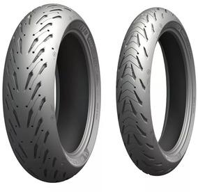 Par Pneu Fazer 600 120/70-17+190/50-17 Michelin Road 5