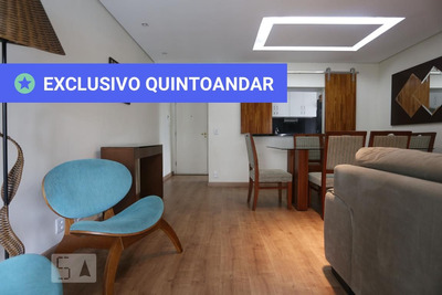 Apartamento No 3º Andar Mobiliado Com 2 Dormitórios E 2 Garagens - Id: 892890982 - 190982