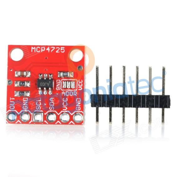 Dac Mcp4725 Digital Analogico Arduino Raspberry Ptec