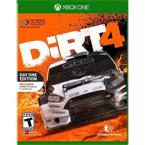 Dirt 4 Day One Edition (mídia Física) - Xbox One