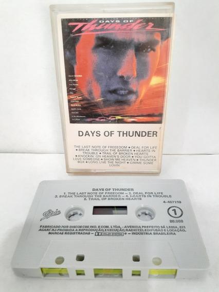 Fita K7 / Days Of Thunder / Ano 1990