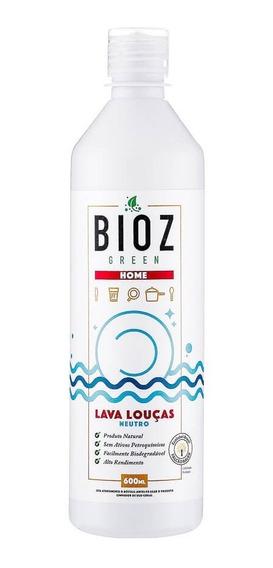 Detergente Natural E Ecológico Neutro 600ml Bioz