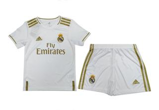 Uniforme Futbol Real Madrid Niño Temporada 2020 Original