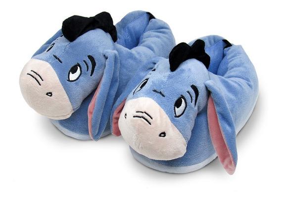 Pantufa 3d Bisonho Com Solado De Borracha - Original Disney